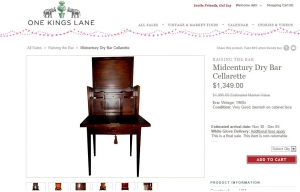 RAISING THE BAR - as featured on ONEKINGSLANE