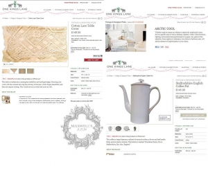 WE'RE FEATURED in VINTAGE & DESIGNER FINDS on ONE KINGS LANE