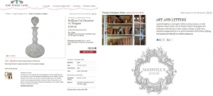 MAXWELL'S A FEATURED VINTAGE & DESIGNER PICK ON THE ARTFUL STUDY!