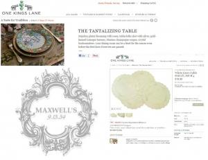 MAXWELL'S A FEATURED ONEKINGSLANE DESIGNER